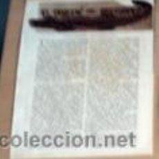 Coleccionismo Recortables: BLASCO IBÁÑEZ ESCRIBE EN 1932 DEL DRAGON DEL PATRIARCA, VALENCIA, RECORTE (R2671) REVISTA ESE AÑO. Lote 49424775