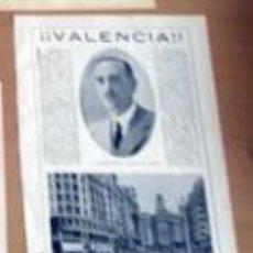 Coleccionismo Recortables: ELOGIO DE VALENCIA Y SU AYUNTAMIENTO EN 1932 EN RECORTE (R2670) 2 PÁGINAS REVISTA ESE AÑO. Lote 49424995