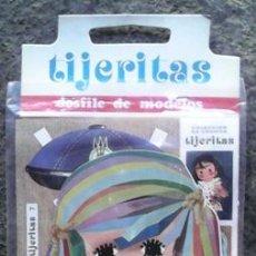 Coleccionismo Recortables: TIJERITAS Nº 7, DESFILE DE MODELOS, ARNALOT EDITOR, BARCELONA. Lote 56635330