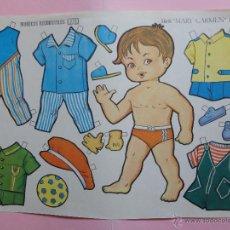 Coleccionismo Recortables: MUÑECA RECORTABLE BOGA SERIE MARY CARMEN Nº 512.. Lote 50173946