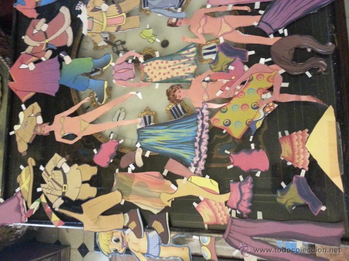 Coleccionismo Recortables: COLECCIONES DE RECORTABLES RECORTADOS DE MUÑECAS MUÑECOS,,,, GRAN LOTE - Foto 6 - 50670609