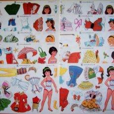 Coleccionismo Recortables: ...•:*¨.*:•..COLECCIÓN 10 RECORTABLES DE MUÑECAS EDITORIAL LEYRE AÑOS 80....•:*¨.*:•... Lote 95884912