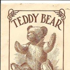 Coleccionismo Recortables: TEDDY BEAR RECORTABLE OSITO PELUCHE. Lote 51923133