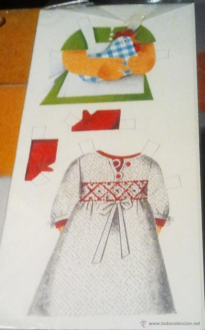 Coleccionismo Recortables: Muñeca CARINA. y sus vestidos recortables. Dibujo de Arnalot. 26 cms alto. - Vell i Bell - Foto 2 - 52600916