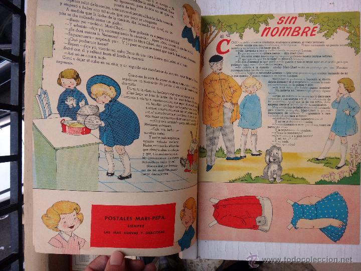 Coleccionismo Recortables: CUENTO MARI PEPA, MARIA CLARET , MARI- PEPA Y BARRABAS , CON SUPLEMENTO RECORTABLE, ORIGINAL - Foto 2 - 52634658
