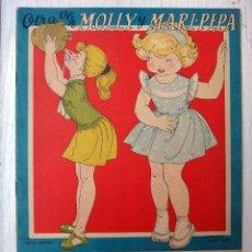 Coleccionismo Recortables: CUENTO MARI PEPA, MARIA CLARET ,OTRA VEZ MOLLY Y MARI- PEPA , CON SUPLEMENTO RECORTABLE, ORIGINAL. Lote 52634772