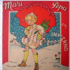 Coleccionismo Recortables: CUENTO MARI PEPA, MARIA CLARET , MARI- PEPA EN INVIERNO , CON SUPLEMENTO RECORTABLE, ORIGINAL. Lote 52634907