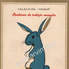 Coleccionismo Recortables: JUGUETES DE TRAPO - ANTIGUO CUADERNO DE TRABAJOS MANUALES - EDIT SEIX Y BARRAL. Lote 53252260