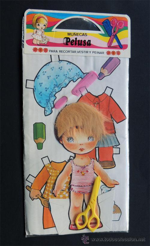 Muñecas Pelusa N 4 Para Recortar Vestir Y Pe Vendido En