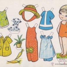 Coleccionismo Recortables: RECORTABLES BABY EDITORIAL ROMA, SERIE MUÑECAS Nº 5. Lote 53507709