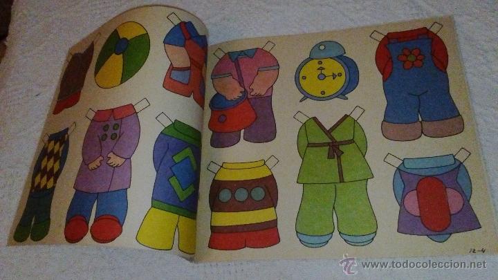 Coleccionismo Recortables: RECORTABLE SOY MODISTA DE BRUGUERA 1982. LA PORTADA ESTA RECORTADA. TIENE LAS 6 HOJITAS DE VESTIDOS - Foto 3 - 53714561
