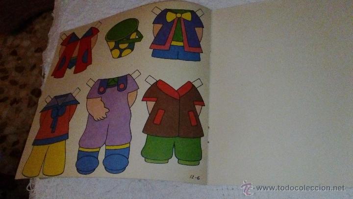 Coleccionismo Recortables: RECORTABLE SOY MODISTA DE BRUGUERA 1982. LA PORTADA ESTA RECORTADA. TIENE LAS 6 HOJITAS DE VESTIDOS - Foto 4 - 53714561