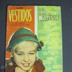 Coleccionismo Recortables: LOS VESTIDOS DE MARISOL DE LA PELICULA HA LLEGADO UN ANGEL-INCOMPLETO SIN MUÑECAS-VER FOTOS-(V-4250). Lote 54263660