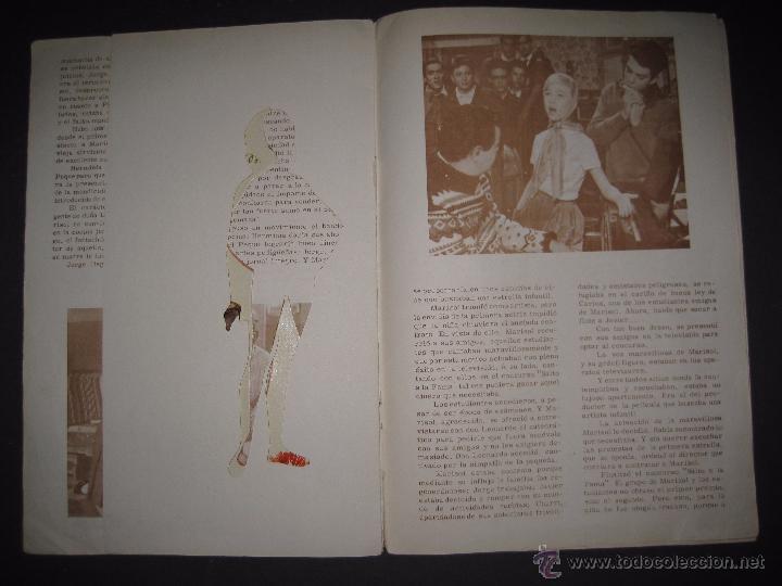 Coleccionismo Recortables: LOS VESTIDOS DE MARISOL DE LA PELICULA HA LLEGADO UN ANGEL-INCOMPLETO SIN MUÑECAS-VER FOTOS-(V-4250) - Foto 5 - 54263660