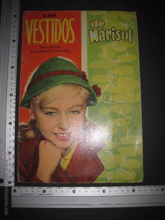 Coleccionismo Recortables: LOS VESTIDOS DE MARISOL DE LA PELICULA HA LLEGADO UN ANGEL-INCOMPLETO SIN MUÑECAS-VER FOTOS-(V-4250) - Foto 8 - 54263660