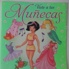 Coleccionismo Recortables: LIBRO RECORTABLE VISTE A TUS MUÑECAS.. Lote 54500848