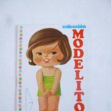 Colecionismo Recortáveis: COLECCIÓN MODELITO MUÑECA RECORTABLE CUADERNITO Nº 23, ARNALOT 1974. Lote 139132742