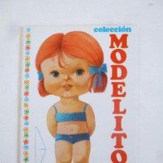Colecionismo Recortáveis: COLECCIÓN MODELITO MUÑECA RECORTABLE CUADERNITO Nº 9, ARNALOT 1974 14X9.3CM . Lote 148483270
