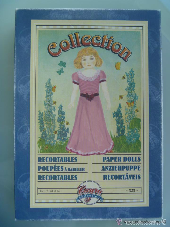 CAJA DE RECORTABLE ACTUAL DE COLLECCION , REPRODUCCION DE JUEGO DE LOS AÑOS 20 (Coleccionismo - Recortables - Muñecas)