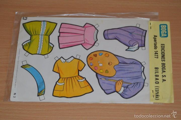 Coleccionismo Recortables: Muñecas troqueladas y vestidos recortables - N 3 - NEREA - Ediciones BOGA SA - Nuevo sin uso - Foto 3 - 66091623