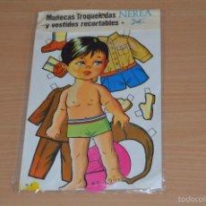 Coleccionismo Recortables: MUÑECAS TROQUELADAS Y VESTIDOS RECORTABLES - N 2 - NEREA - EDICIONES BOGA SA - NUEVO SIN USO. Lote 66091673