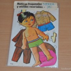 Coleccionismo Recortables: MUÑECAS TROQUELADAS Y VESTIDOS RECORTABLES - N 2 - NEREA - EDICIONES BOGA SA - NUEVO SIN USO. Lote 66091647