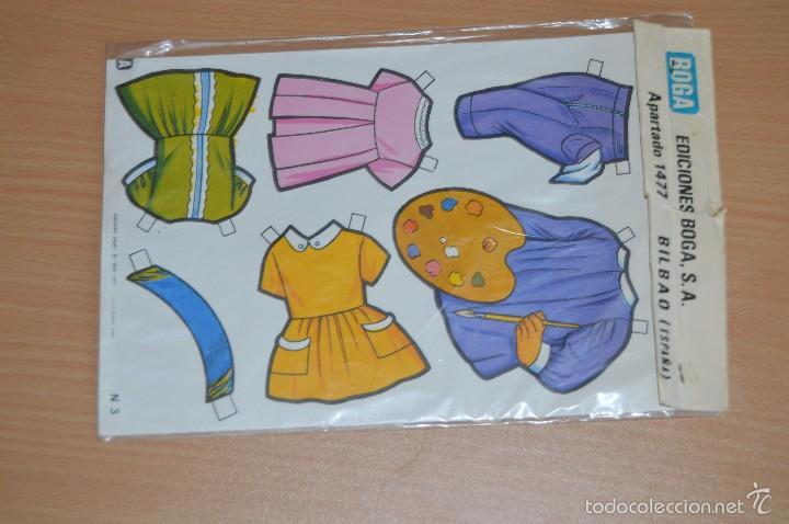 Coleccionismo Recortables: Muñecas troqueladas y vestidos recortables - N 3 - NEREA - Ediciones BOGA SA - Nuevo sin uso - Foto 3 - 66091615