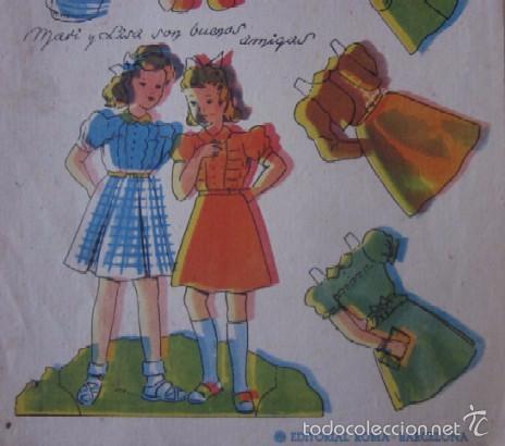 Coleccionismo Recortables: MARI-LUZ SERIE MARIQUITAS - Foto 3 - 58137296