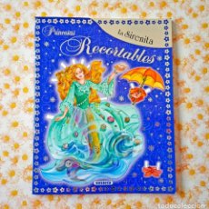 Coleccionismo Recortables: RECORTABLES SIRENITA MUÑECAS PRINCESAS RECORTABLE SUSAETA SIRENA. Lote 62192004