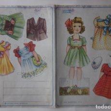 Coleccionismo Recortables: RECORTABLE SERIE MARIQUITAS - EDITORIAL ROMA AÑOS 50. Lote 64407043