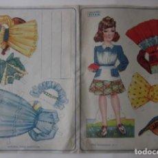 Coleccionismo Recortables: RECORTABLE SERIE MARIQUITAS - EDITORIAL ROMA AÑOS 50. Lote 64409811