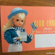Coleccionismo Recortables: SOBRE DEL CLUB DE CHABEL. Lote 64842963