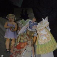 Coleccionismo Recortables: RECORTABLES VARIOS DE LOS AÑOS 40-50.. Lote 65852882
