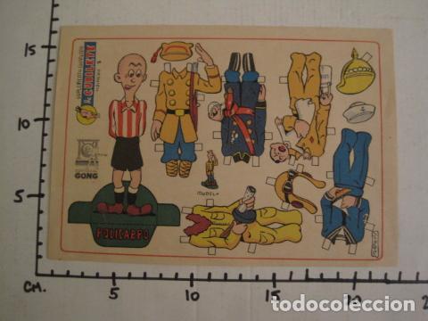 Coleccionismo Recortables: RECORTABLE CUBILETE - MUÑECO -POLICARPO -EDITORIAL GONG - ORIGINAL - NO COPIA - VER FOTOS -(V-7371) - Foto 5 - 66163286