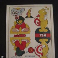 Coleccionismo Recortables: RECORTABLE - PAJARO BRAVO - MAMBO -TIM -ORIGINAL-NO COPIA- VER FOTOS -(V-7377). Lote 66164978