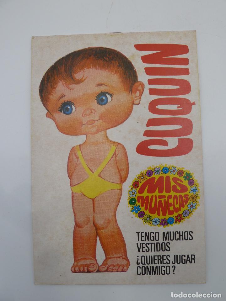 CUQUIN, MIS MUÑECAS RECORTABLES, 1ª SERIE BRUGUERA 1983 DIBUJOS MANUEL BREA (Coleccionismo - Recortables - Muñecas)
