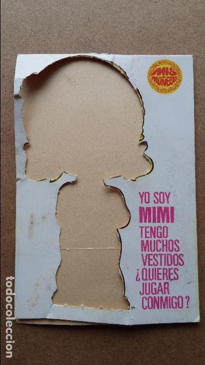 Coleccionismo Recortables: Editorial Bruguera ,mis muñecas, mini recortables serie 5ª hay 40 vestiditos etc...mis muñecas - Foto 2 - 71077825