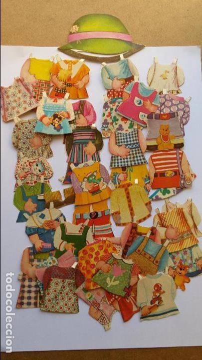 Coleccionismo Recortables: Editorial Bruguera ,mis muñecas, mini recortables serie 5ª hay 40 vestiditos etc...mis muñecas - Foto 3 - 71077825