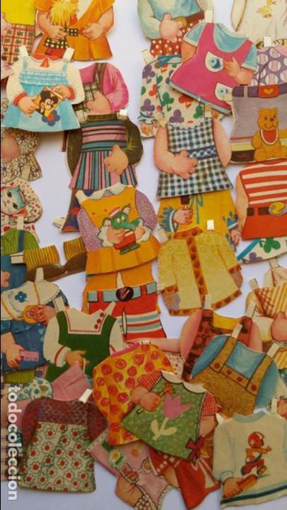 Coleccionismo Recortables: Editorial Bruguera ,mis muñecas, mini recortables serie 5ª hay 40 vestiditos etc...mis muñecas - Foto 4 - 71077825
