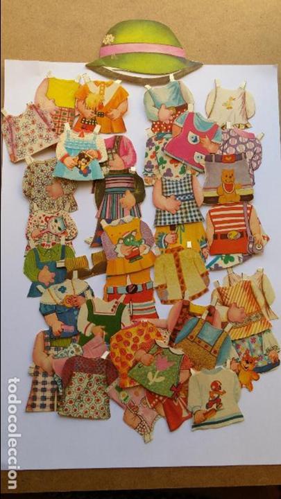 Coleccionismo Recortables: Editorial Bruguera ,mis muñecas, mini recortables serie 5ª hay 40 vestiditos etc...mis muñecas - Foto 5 - 71077825