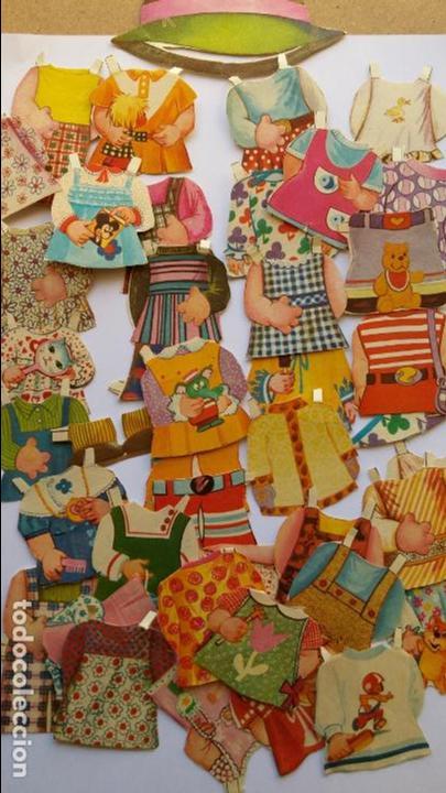 Coleccionismo Recortables: Editorial Bruguera ,mis muñecas, mini recortables serie 5ª hay 40 vestiditos etc...mis muñecas - Foto 6 - 71077825