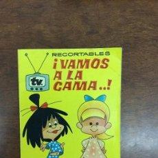 Coleccionismo Recortables: RECORTABLES VAMOS A LA CAMA LA FAMILIA TELLERIN Y SUS VESTIDOS. Lote 72404351