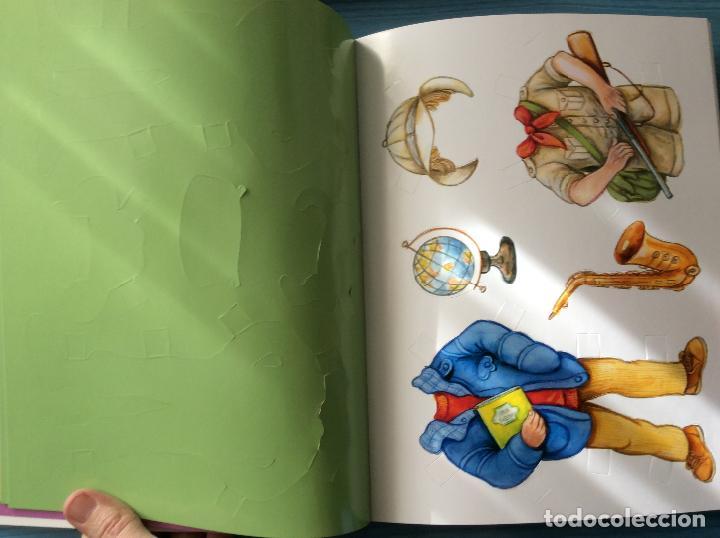 Coleccionismo Recortables: LIBRO RECORTABLES DE MUÑECAS EDITORIAL SUSAETA VISTE A TUS MUÑECAS LUCIA Y SUS AMIGOS - Foto 6 - 98828528