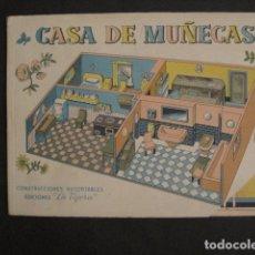 Coleccionismo Recortables: CASA DE MUÑECAS - CONJUNTO 8 HOJAS RECORTABLES - LA TIJERA - VER FOTOS - (V-9138). Lote 76626411
