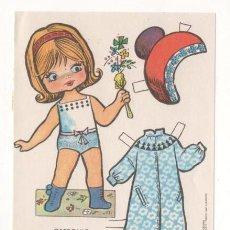 Coleccionismo Recortables: (ALB-TC-7) RECORTABLE OBSEQUIO DE CHICLE BABY MODAS DE FIESTA. Lote 80414685