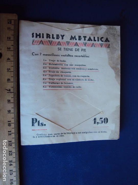 Coleccionismo Recortables: (PA-170450)LOTE ORIGINAL DE RECORTABLES SHIRLEY TEMPLE.17 MANIQUIS Y 12 VESTIDOS.AÑOS 30-40 - Foto 51 - 85052664