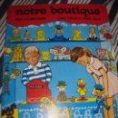Coleccionismo Recortables: BONITO ALBUM RECORTABLES DE TIENDA DE MUÑECA Y JUGUETES NOTRE BOUTIQUE ED LITO 1984 COMPLETO CARTON. Lote 85253012