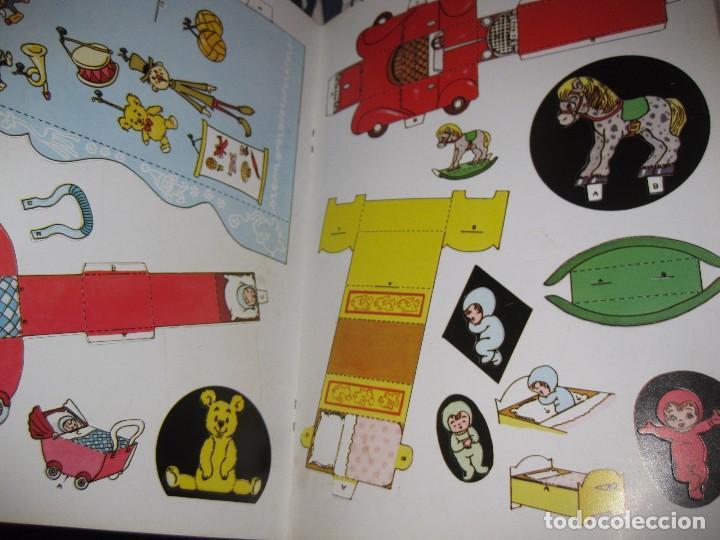 Coleccionismo Recortables: bonito album recortables de tienda de muñeca y juguetes notre boutique ed lito 1984 completo carton - Foto 3 - 85253012