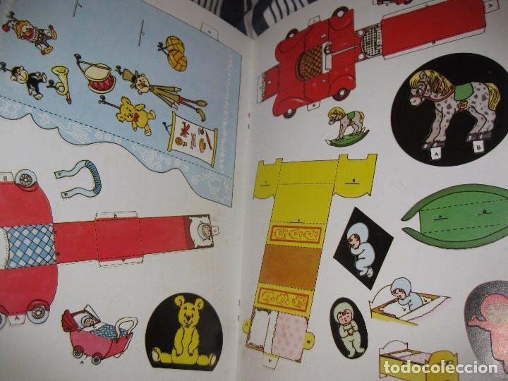 Coleccionismo Recortables: bonito album recortables de tienda de muñeca y juguetes notre boutique ed lito 1984 completo carton - Foto 4 - 85253012
