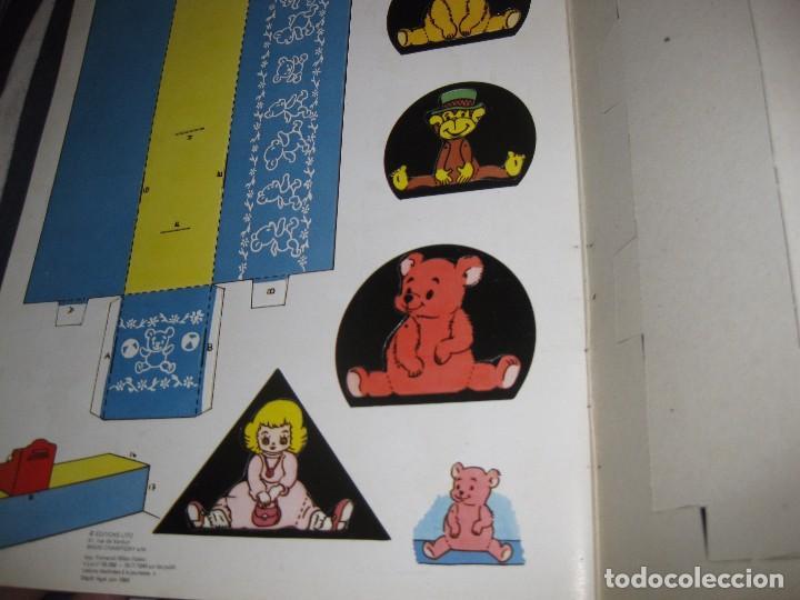 Coleccionismo Recortables: bonito album recortables de tienda de muñeca y juguetes notre boutique ed lito 1984 completo carton - Foto 5 - 85253012